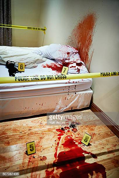 bloody alptraum - mord stock-fotos und bilder