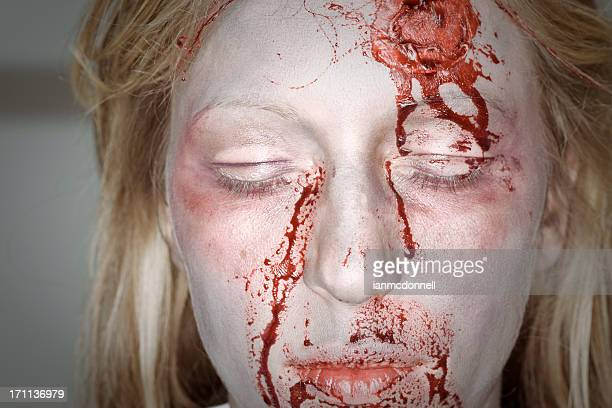 bloody - female autopsy photos stock photos and pictures