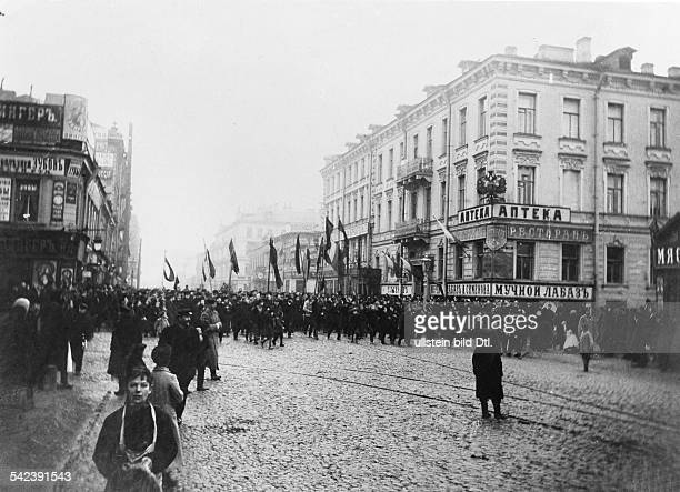 Bloody Sunday, Demonstration in St. Petersburg, Russia - 1905