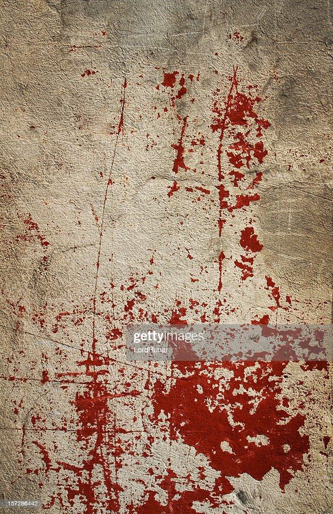 Bloody wall I : Stock Photo