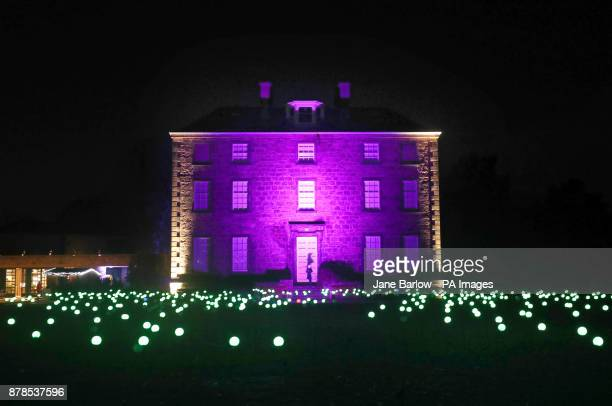 Bloom Squidsoup in front of Inverleith House is one of a series of light installations that feature in Christmas at the Botanics which is a onemile...