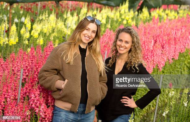 Bloom2Bloom partners Whitney Port Laurenne Resnik are photographed for Los Angeles Times on March 6 2017 in Los Angeles California PUBLISHED IMAGE...