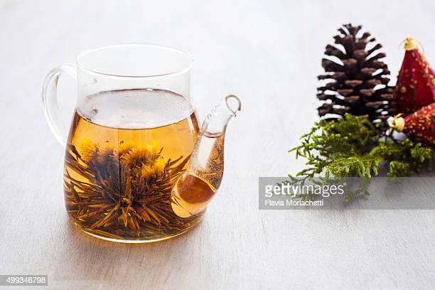 Blooming tea