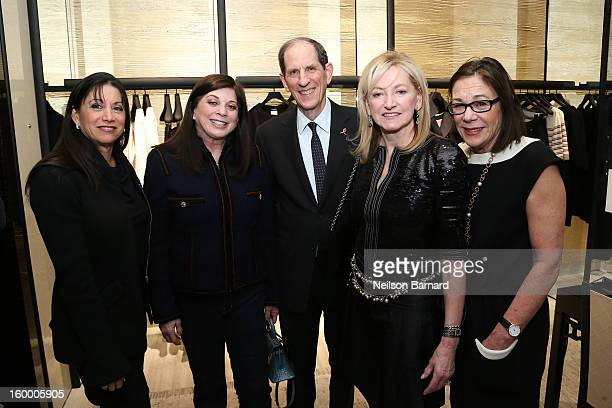 ef58327f1542e5 Bloomingdale's CEO Michael Gould Chanel EVP Barbara Cirkva and  Bloomingdale's Fashion Director Stephanie Solomon attend Bloomingdale's