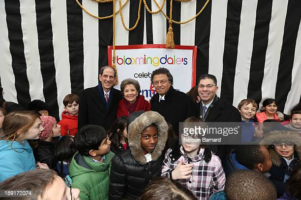 Bloomingdale's CEO Michael Gould Mentoring USA Founder Matilda Cuomo Pix11 Weatherman Mr G and Bloomingdale's President Tony Spring attend...