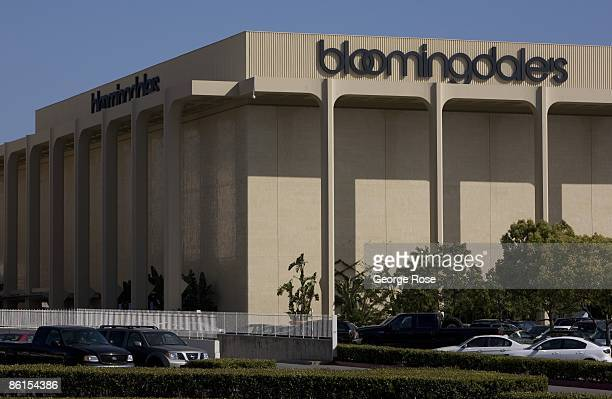 Bloomingdale's department store at Fashion Island is seen in this 2009 Newport Beach California afternoon exterior photo