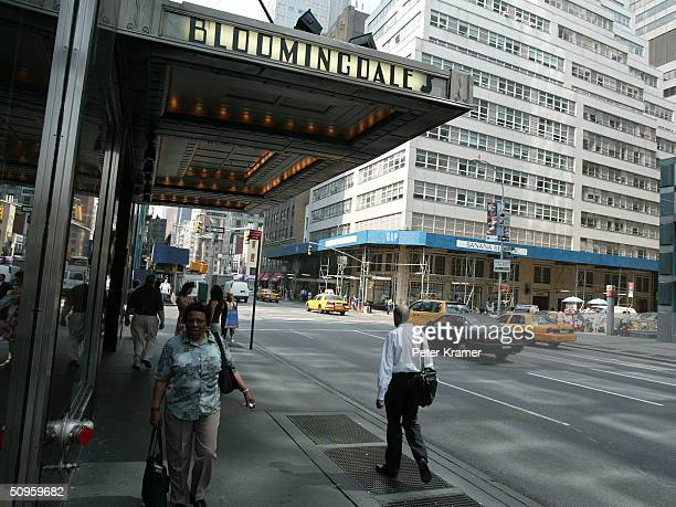 Bloomingdales Department Store on Lexington Ave June 14 2004 in New York City