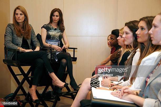 Bloomingdale's Director of Fashion Accessories Brooke Jaffe and Senior Fashion Director for Saks Fifth Avenue Colleen Sherin speak at the 7th Annual...