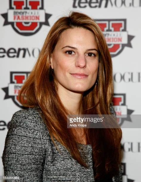 Bloomingdale's Director of Fashion Accessories Brooke Jaffe attends the 7th Annual Teen Vogue Fashion University at the Conde Nast building on...