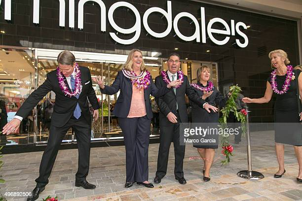 Bloomingdale's EVP Director of Stores Charles Anderson Bloomingdale's VP and General Manager of Ala Moana Carolyn Edward Bloomingdale's Chairman and...