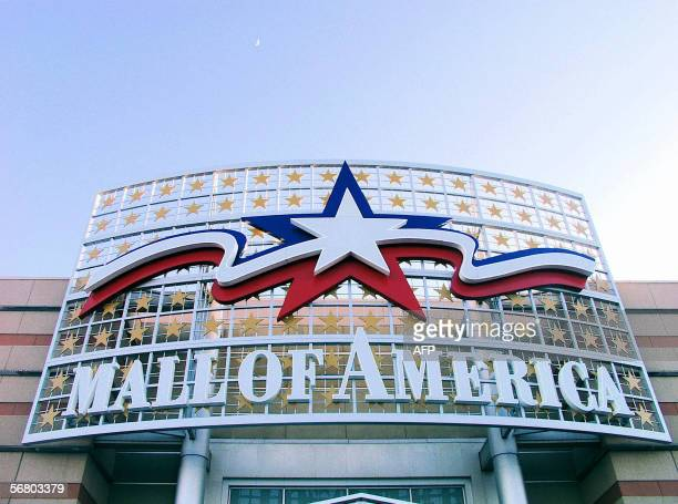 Bloomington, UNITED STATES: A sign at the Mall of America is pictured 02 February 2006 in Bloomington, Minnesota. The largest in the US with more...