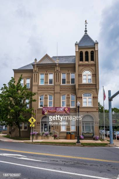 bloomsburg town hall - brycia james stock pictures, royalty-free photos & images