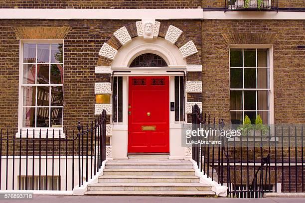 bloomsbury door - bloomsbury london stock photos and pictures