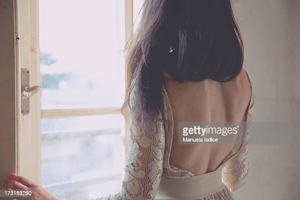 blossom girl - backless stock pictures, royalty-free photos & images