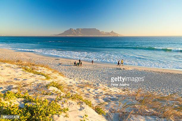 Bloubergstrand Beach and Table Mountain, Cape Town