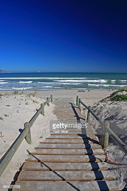 bloubergstrand beach - yasir nisar stock photos and pictures