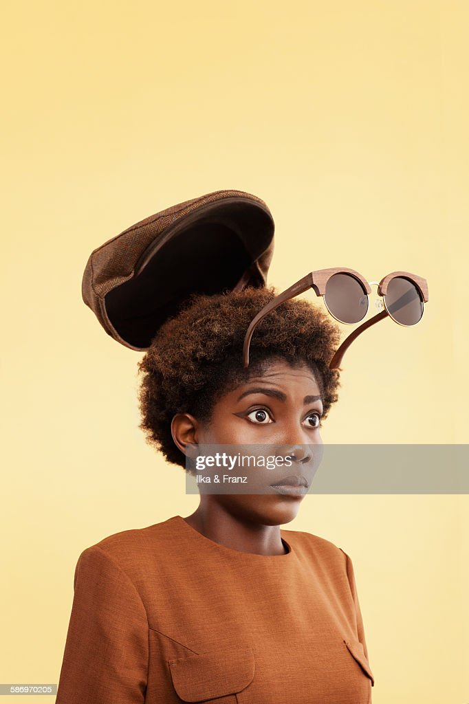 Blow Your Hat Off : Stock Photo