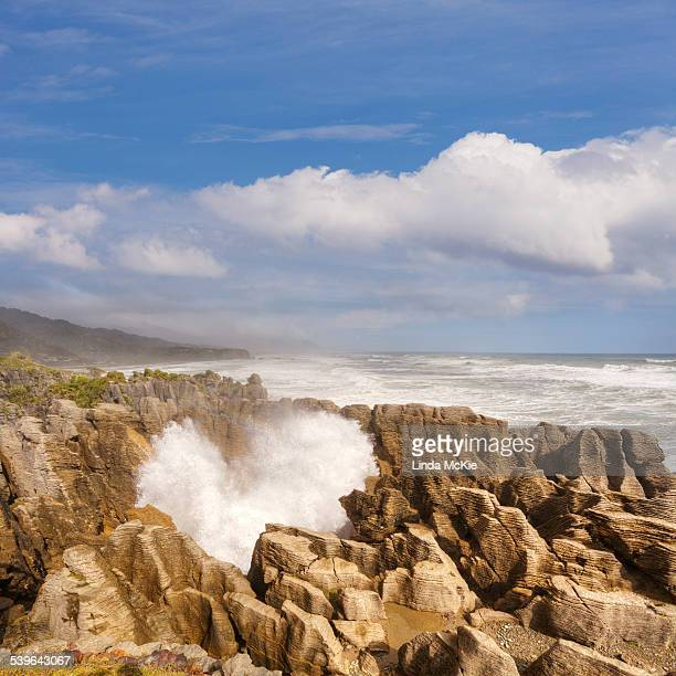 Blowholes, Punakaiki, West Coast, South Island, New Zealand