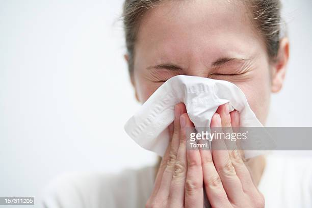 blowing nose - infectious disease stock pictures, royalty-free photos & images