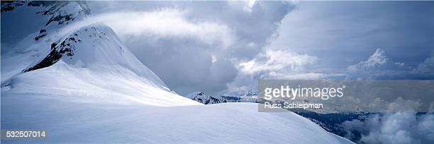 Blowing Snow in the Bernese Alps