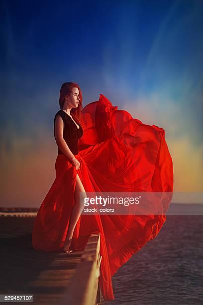 Blasen wind in meine Kleid