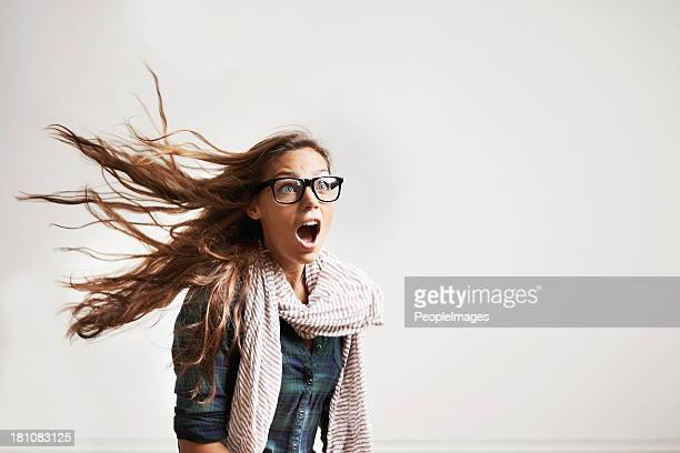 blown away by the latest fashion trends - surprise stock pictures, royalty-free photos & images