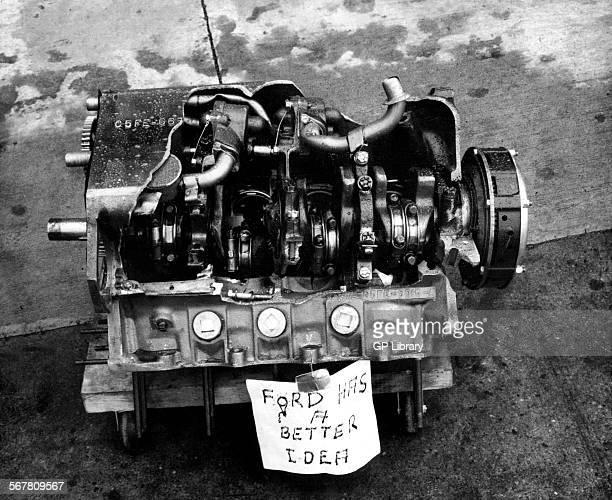 Blown Ford V8 engine.