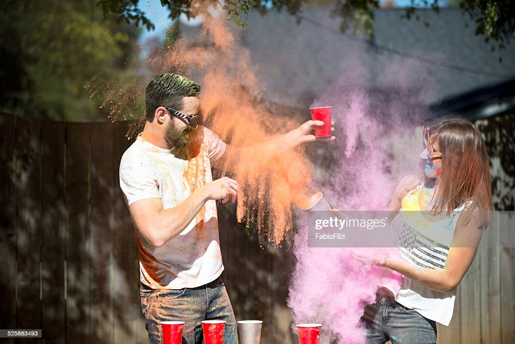blowup of colors : Stock Photo