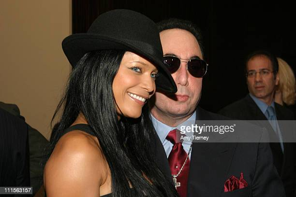 Blu Cantrell and David Gest during David Gest and Dionne Warwick's The Party at Beverly Hilton Hotel in Beverly Hills California United States