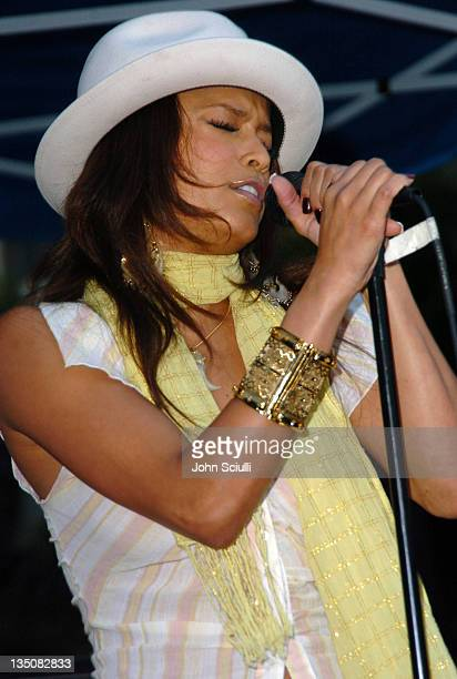 Blu Cantrell during 2nd Annual Franklin Village Street Fair at Franklin Street in Los Angeles, California, United States.