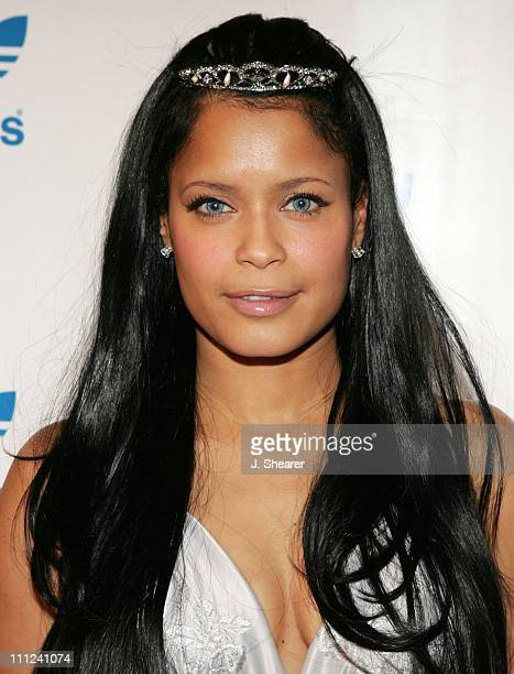Blu Cantrell during Adidas Originals Melrose Store Grand Opening at Adidas Originals Melrose in West Hollywood, California, United States.