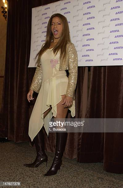 Blu Cantrell during Arista Records CoSponsors Benefit for PENCIL featuring Avril Lavigne and Blu Cantrell at Hammerstein Ballroom in New York City...