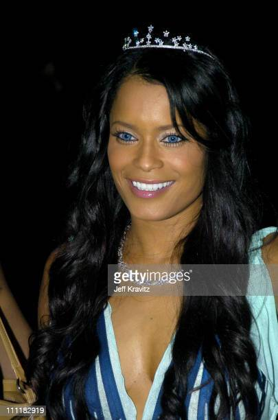 Blu Cantrell during Blu Cantrell's Birthday Party - Inside at Skybar in Hollywood, California, United States.