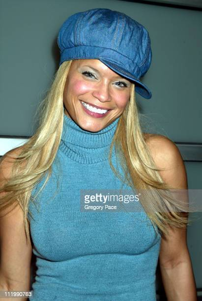 Blu Cantrell during Calvin Klein Fall 2003 Fashion Show at Milk Studios in New York, NY, United States.