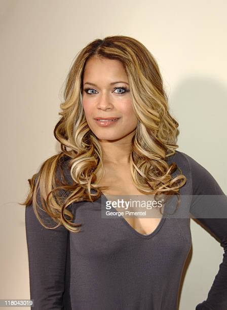 Blu Cantrell during Haven House 2007 Oscar Suite - Day 3 at Private Residence in Beverly Hills, California, United States.