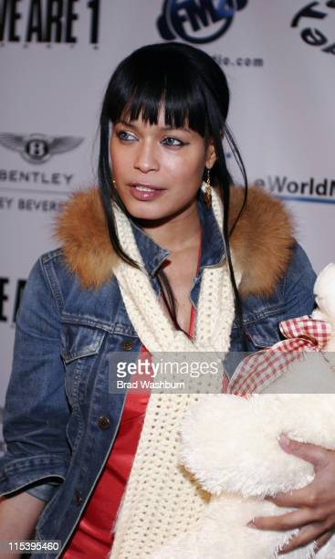 Blu Cantrell during L.A. Clippers Corey Maggette Birthday Party - November 18, 2005 at - in Hollywood, California, United States.