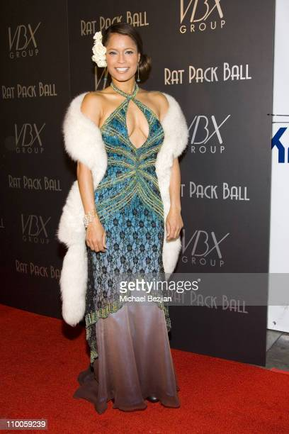 Blu Cantrell during Rat Pack Ball - December 12, 2006 at Priviledge in Hollywood, California, United States.