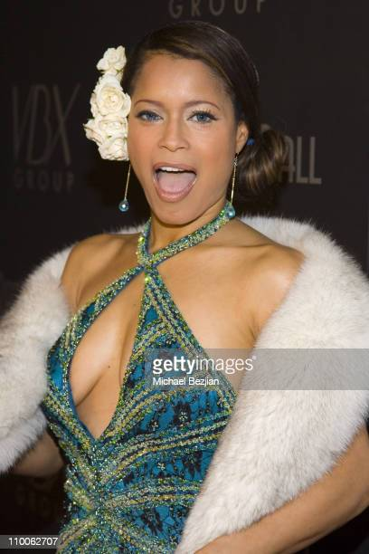 Blu Cantrell during Rat Pack Ball December 12 2006 at Priviledge in Hollywood California United States