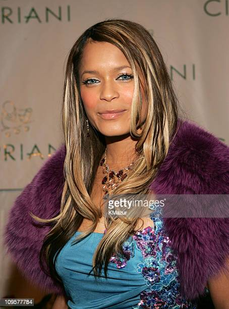 Blu Cantrell during Royal Birthday Ball for Sean 'P Diddy' Combs Red Carpet at Cipriani's in New York City New York United States