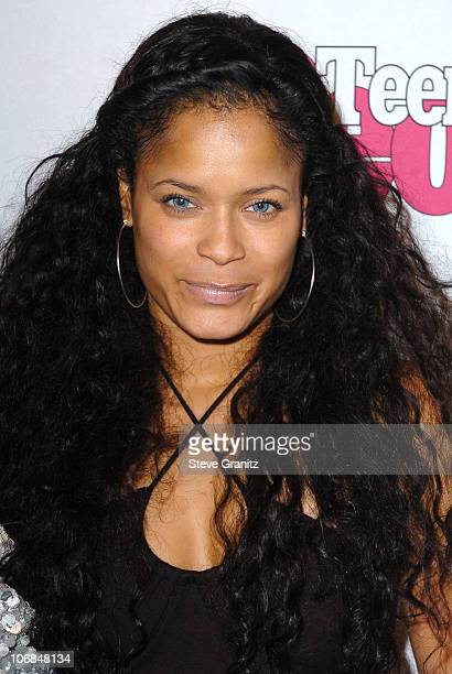 Blu Cantrell during Teen People Celebrates 2nd Annual Young Hollywood Issue Sponsored by EA Games and Baby Phat - Arrivals at Cabana Club in...