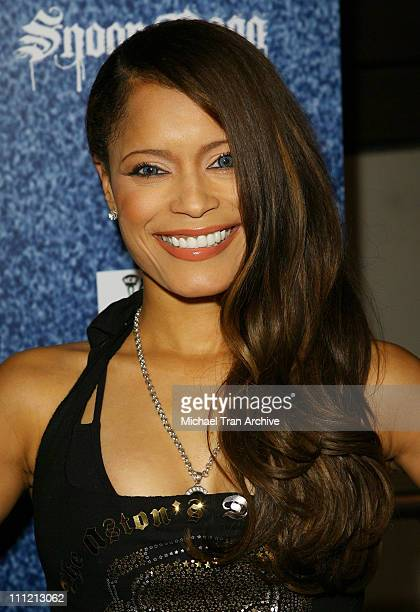 """Blu Cantrell during """"Tha Blue Carpet Treatment"""" Album Release Party - Arrivals at Area in West Hollywood, California, United States."""
