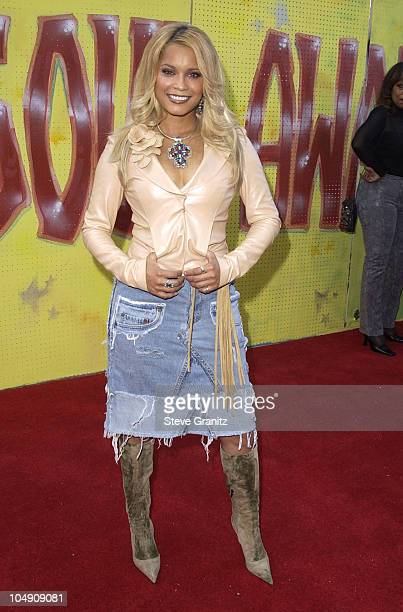 Blu Cantrell during The 7th Annual Soul Train Lady of Soul Awards Arrivals at Santa Monica Civic Auditorium in Santa Monica California United States