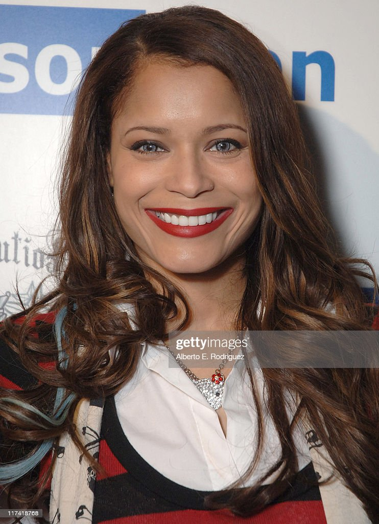 Blu Cantrell during The Retribution Launch Party and Trunk Show at Kitson Men at Kitson Men in Beverly Hills, California, United States.