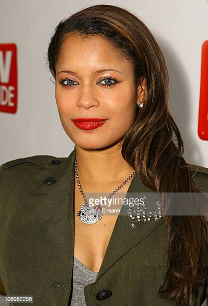 Blu Cantrell during The SeenON.com Launch Party - Red Carpet at Boulevard3 in Los Angeles, California, United States.