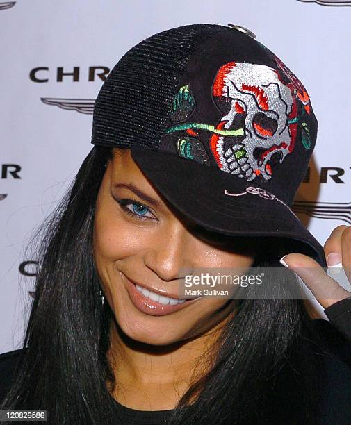 Blu Cantrell during Up Close and Personal with The Chrysler Crossfire and 300C at Vine Street Lounge in Hollywood, California, United States.