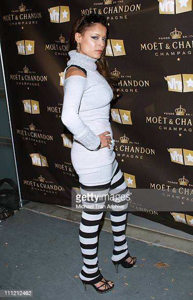 """Blu Cantrell during VH1 and Moet & Chandon Presents the """"Be Fabulous"""" Party - November 9, 2006 at Private Residence in Los Angeles, California,..."""