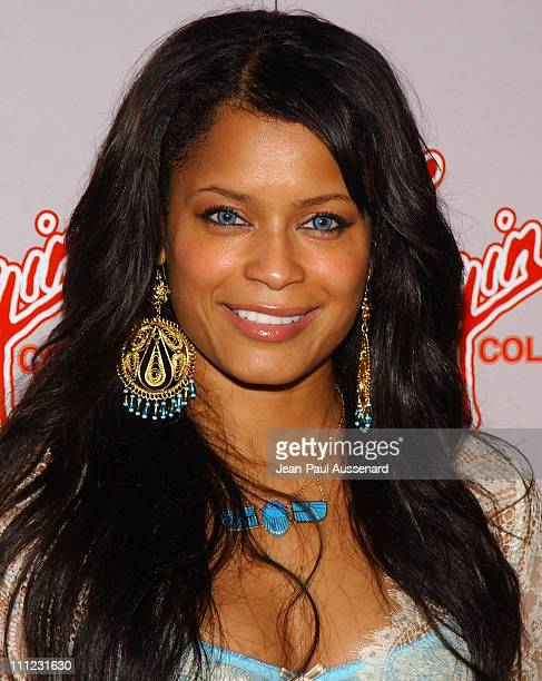Blu Cantrell during Virgin Cola at the Post MTV Movie Awards Party - Arrivals at Fame in Hollywood, California.