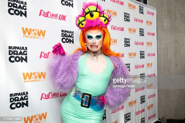 Blu Hydrangea attends RuPaul's DragCon 2019 at The Jacob K Javits Convention Center on September 08 2019 in New York City