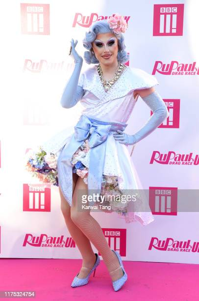 Blu Hydrangea attends the Ru Paul's Drag Race UK Launch on September 17, 2019 in London, England.