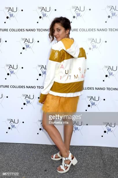 Blu Yoshimi attends Sfilata AU197SM AltaRoma on June 29 2018 in Rome Italy